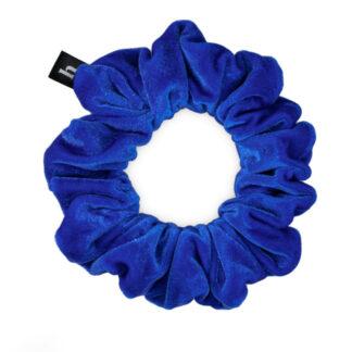 HELLA ELECTRIC BLUE SCRUNCHIE - PETITE
